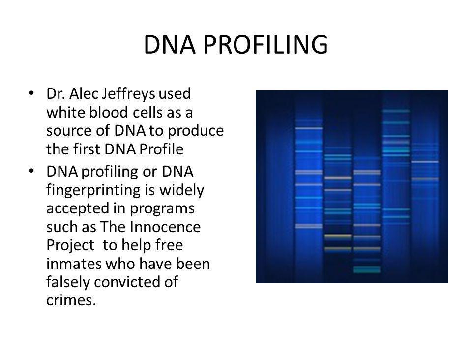 DNA PROFILING Dr.