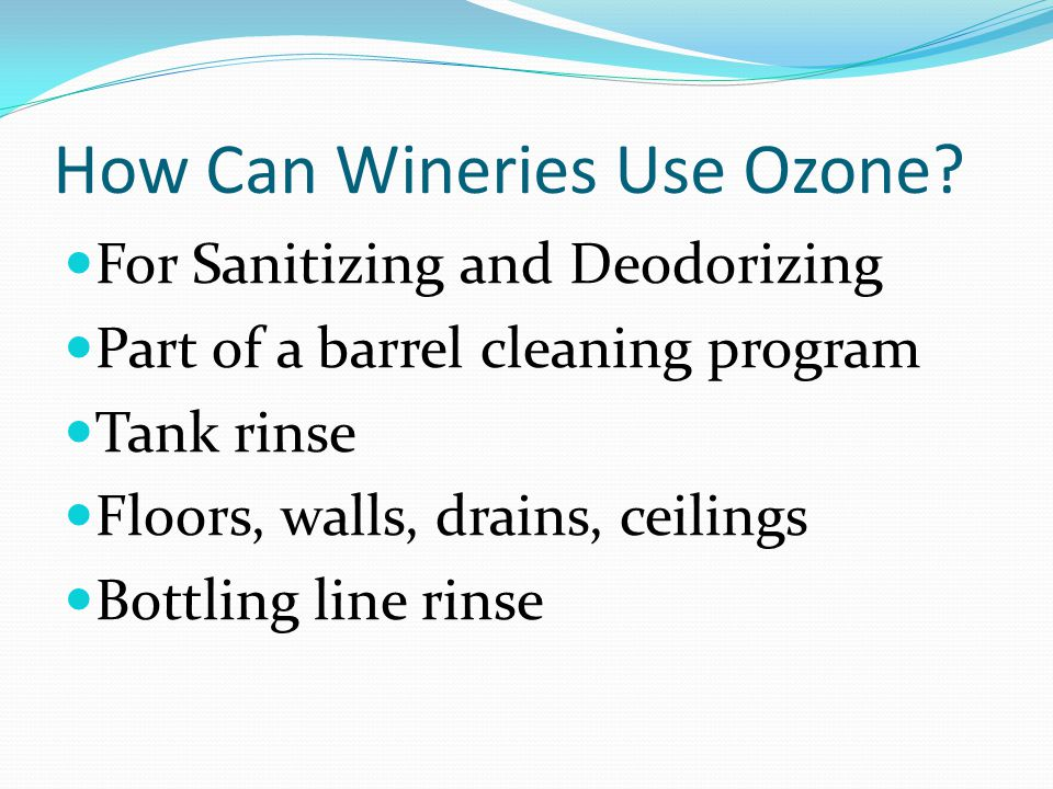 Enemies of Ozone Natural Rubber Your favorite boots Old hoses Bacteria causing Nail polish remover, band- aid, vinegar, sweaty horse, ball- glove, mousiness, rancid peanut butter, geranium, etc.