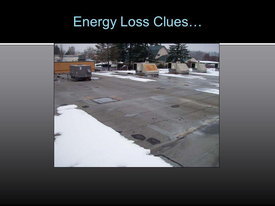 Energy Loss Clues…