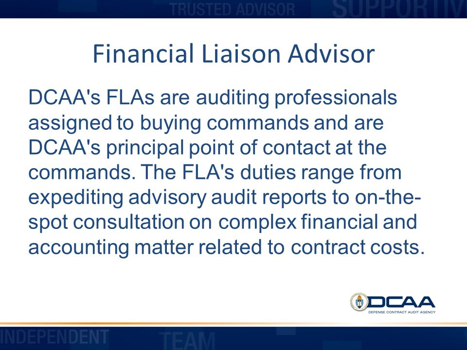 Preaudit Activity (cont.) DCAA will request contractor Policies and Procedures DCAA will request information to complete an Internal Control Questionnaire (ICQ)
