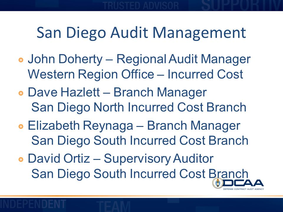 Preaward Accounting System Audits SDRIC Conference February 25, 2014 The views expressed in this presentation are DCAA s views and not necessarily the views of other DoD organizations 20