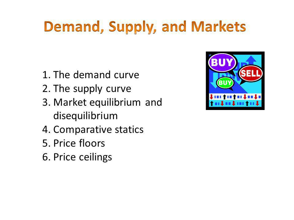 Demand is the relation between the price of a good and the quantity that consumers are willing and able to buy per period, other things constant.