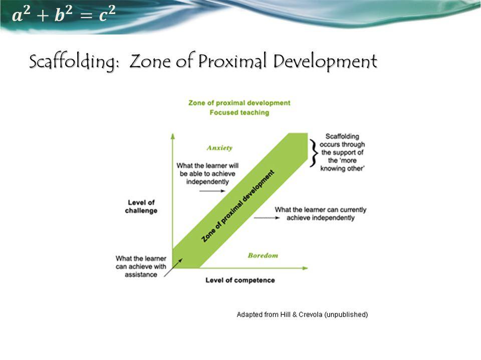 Scaffolding: Zone of Proximal Development