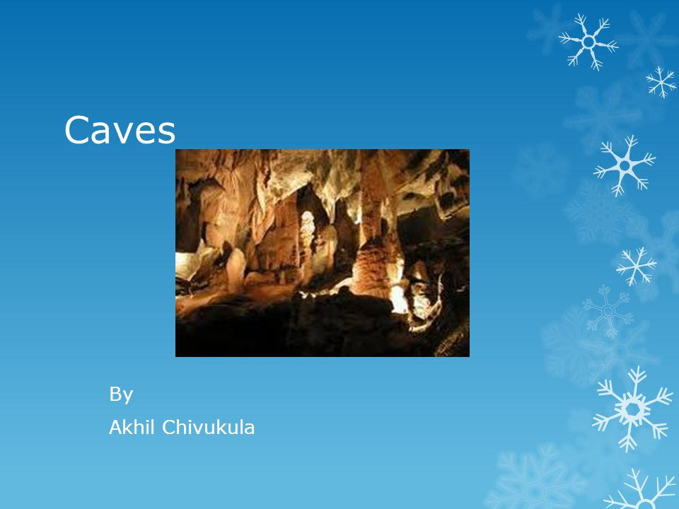 Caves By Akhil Chivukula