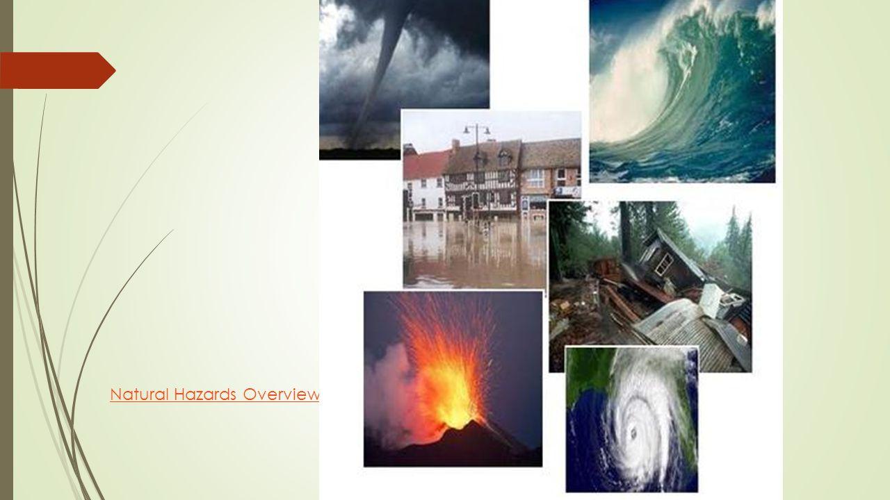 Natural Hazards Overview