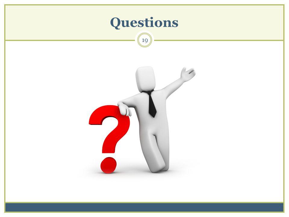 Questions 19
