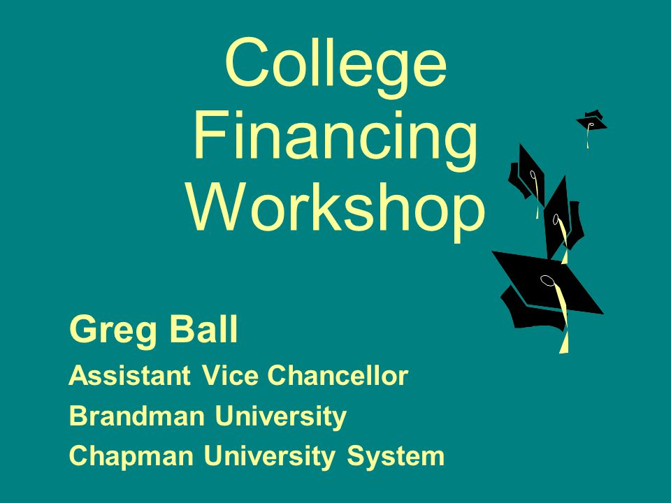 102 Requesting Revision of a Financial Aid Award Over 85% of students receive adequate financial aid awards by doing nothing more than submitting a FAFSA and other application materials.