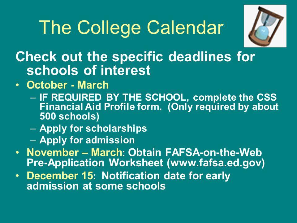 FAFSA: Step Six Question 103: Federal school code for each school Name/address for each school Housing plans for each school List of up to 4 schools to receive FAFSA data or 10 schools by filing online: www.fafsa.ed.gov