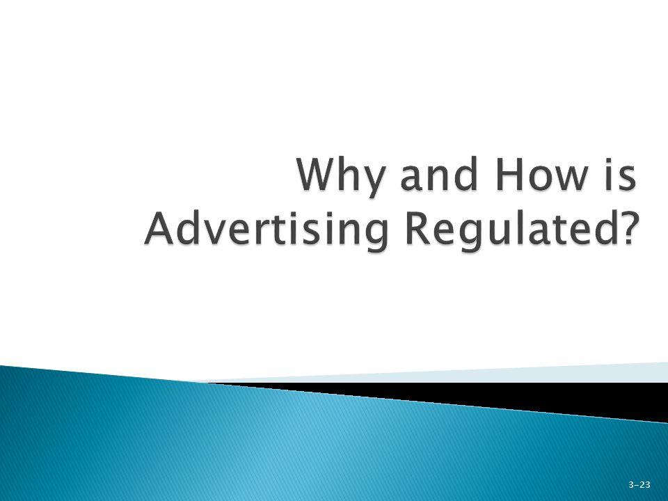 Key advertising legislation 1.Pure Food and Drug Act (1914) 2.