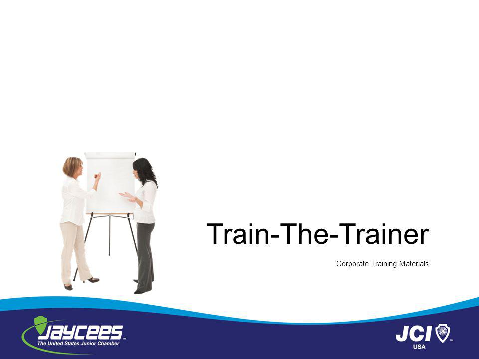 Train-The-Trainer Corporate Training Materials