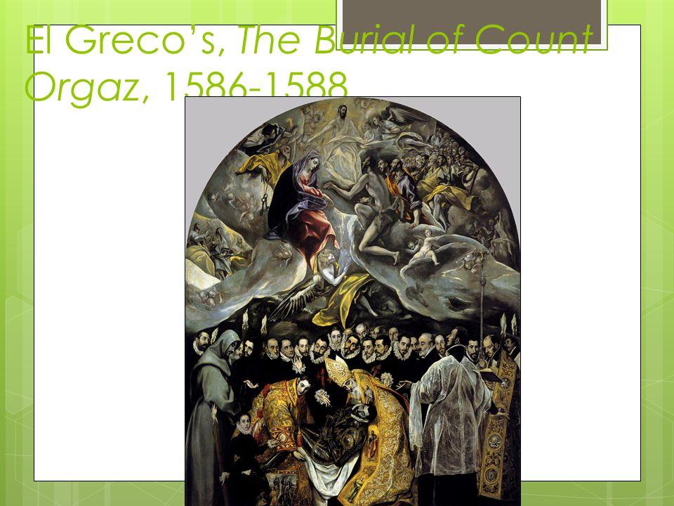 El Grecos, The Burial of Count Orgaz, 1586-1588