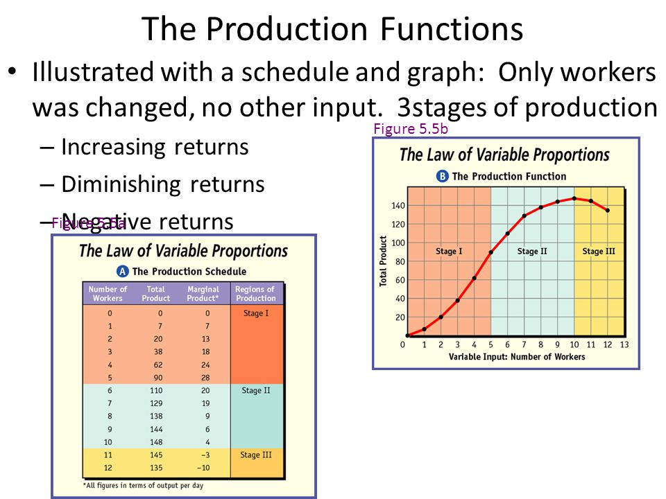 Theory of Production What are the Factors of Production.