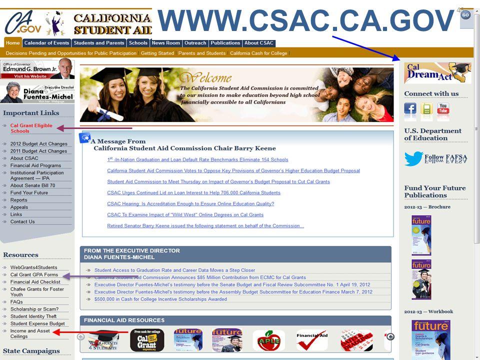 WWW.CSAC.CA.GOV 43