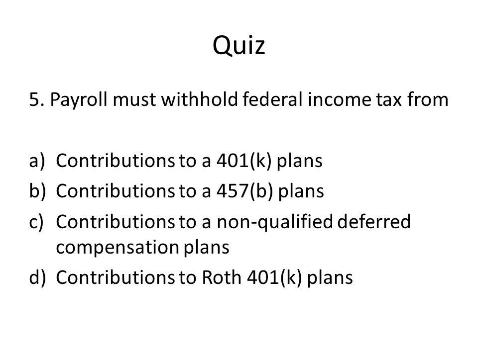 Quiz 5.