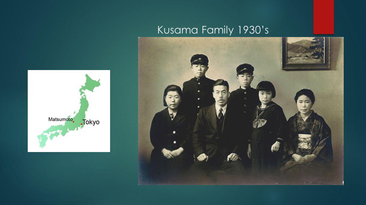 Kusama Family 1930s