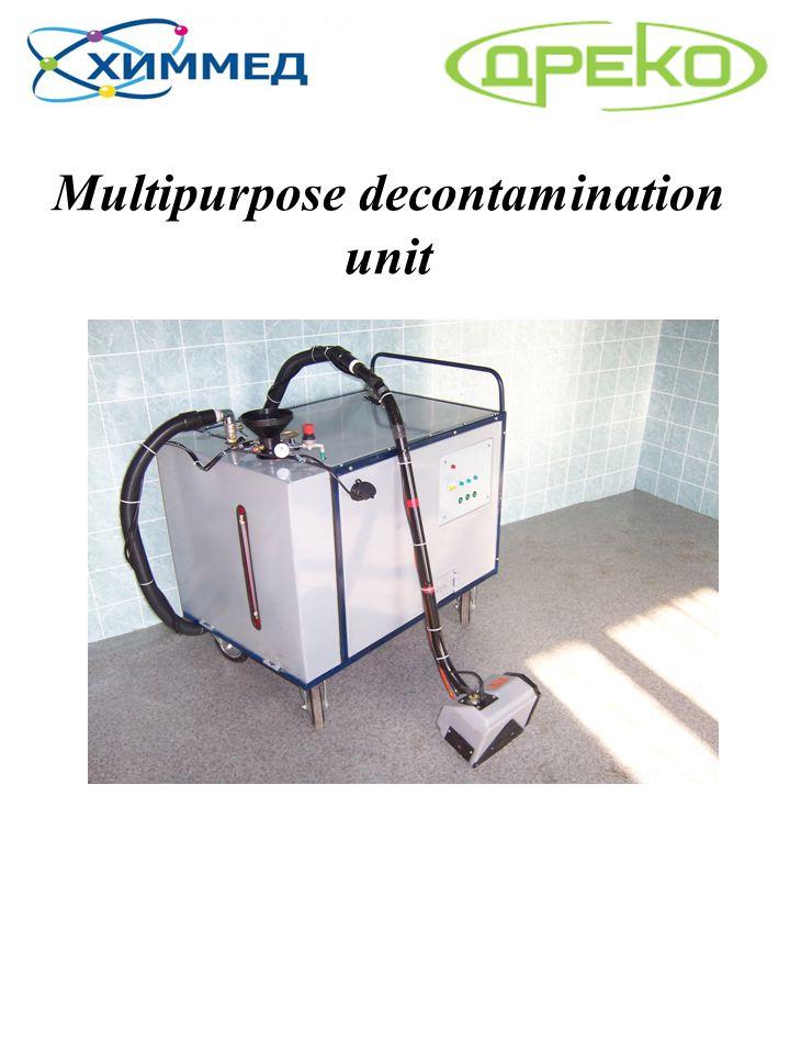 Multipurpose decontamination unit
