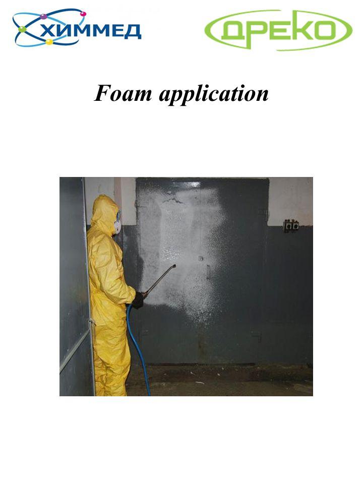 Foam application