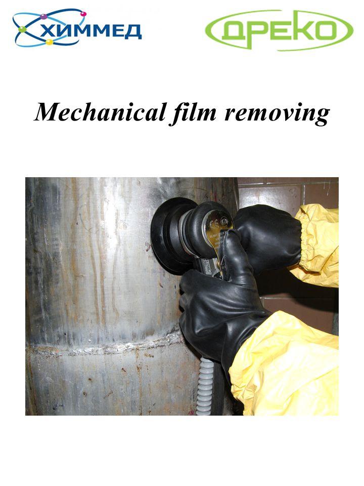 Mechanical film removing