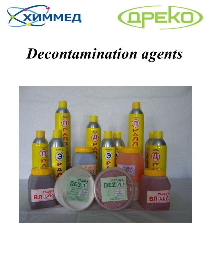 Decontamination agents