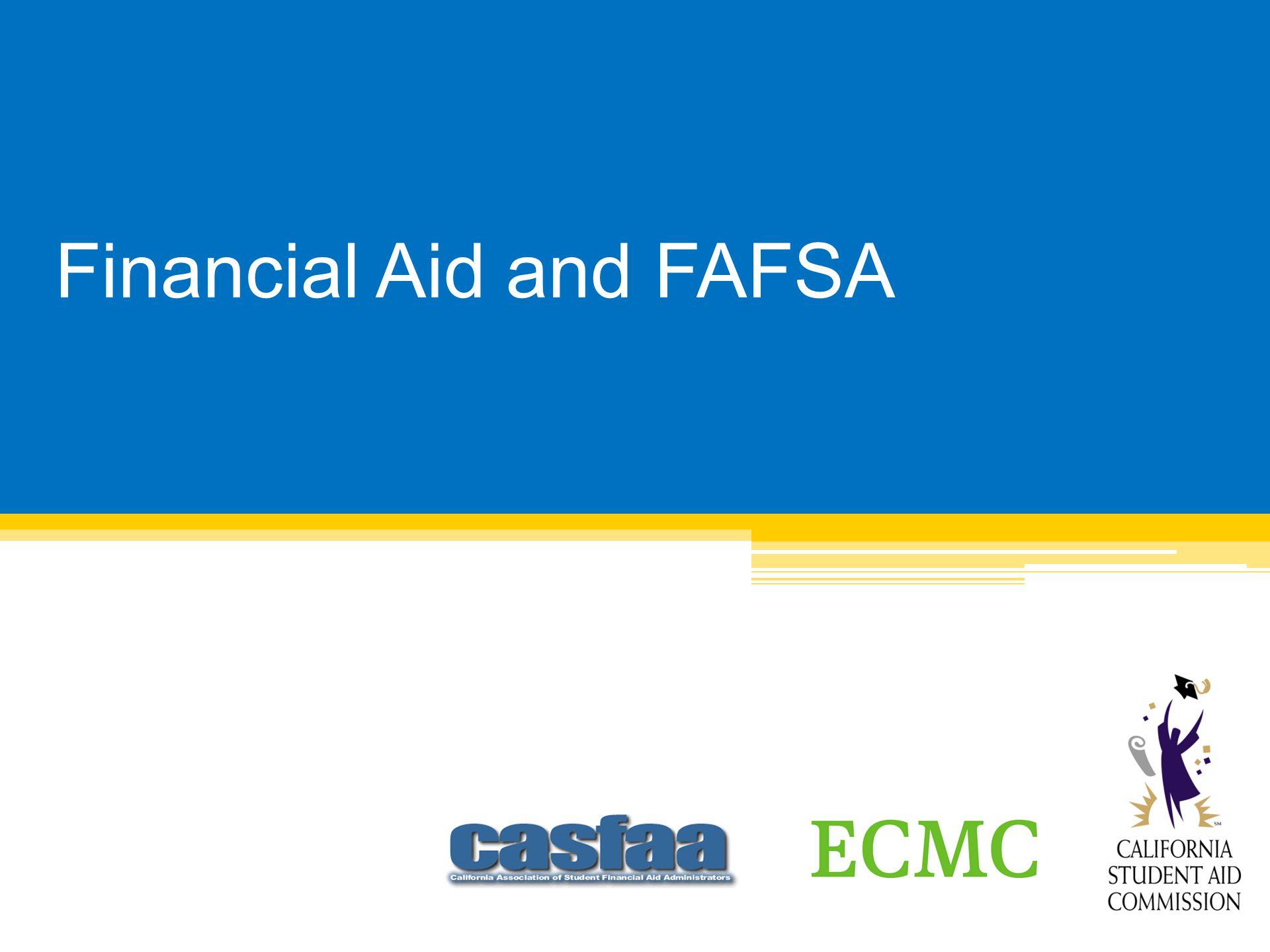 Application & Processing www.fafsa.gov Worksheet:
