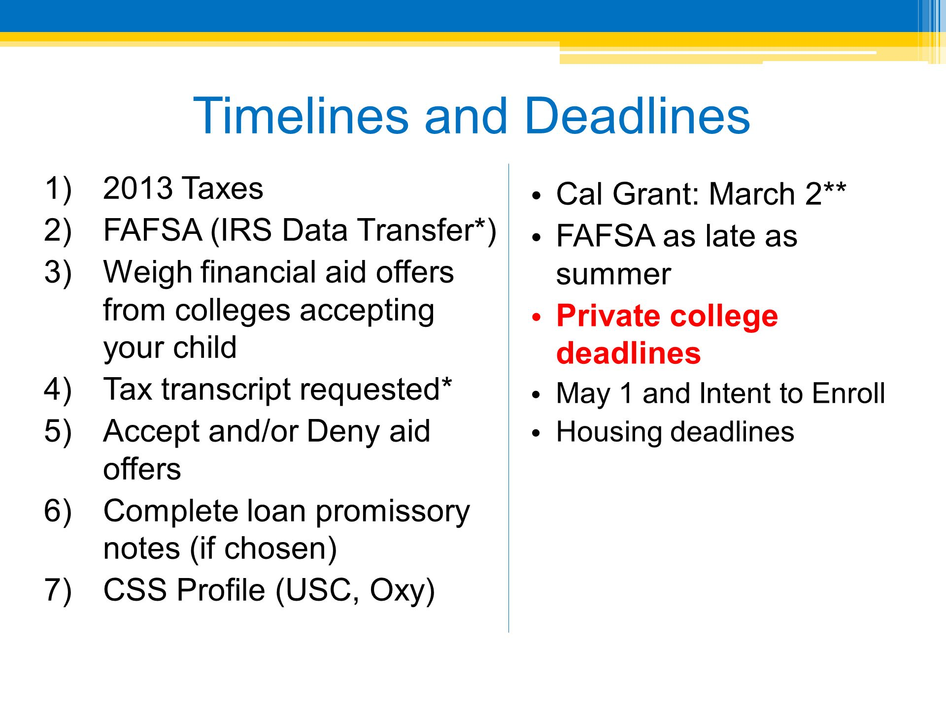 FAFSA on the Web (FOTW) Getting Started: Guidance PIN Status 2013-2014 2013 2014