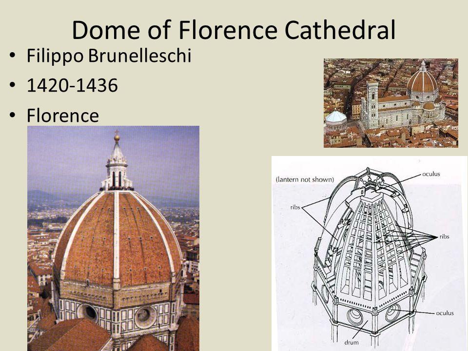 Pazzi Chapel Filippo Brunelleschi 1423 (designed) 1442-1465 (built) Florence