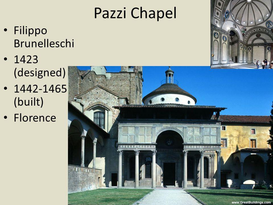 Palazzo Medici-Riccardi Michelozzo 1444 Florence