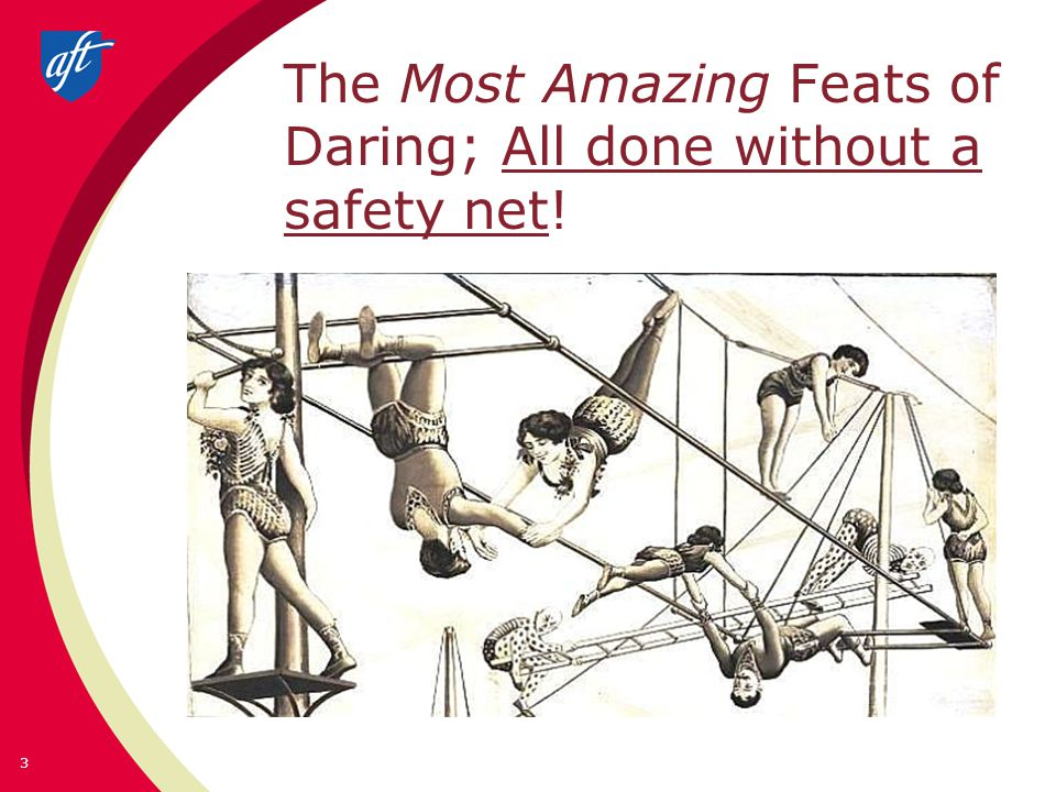 The Most Amazing Feats of Daring; All done without a safety net! 3
