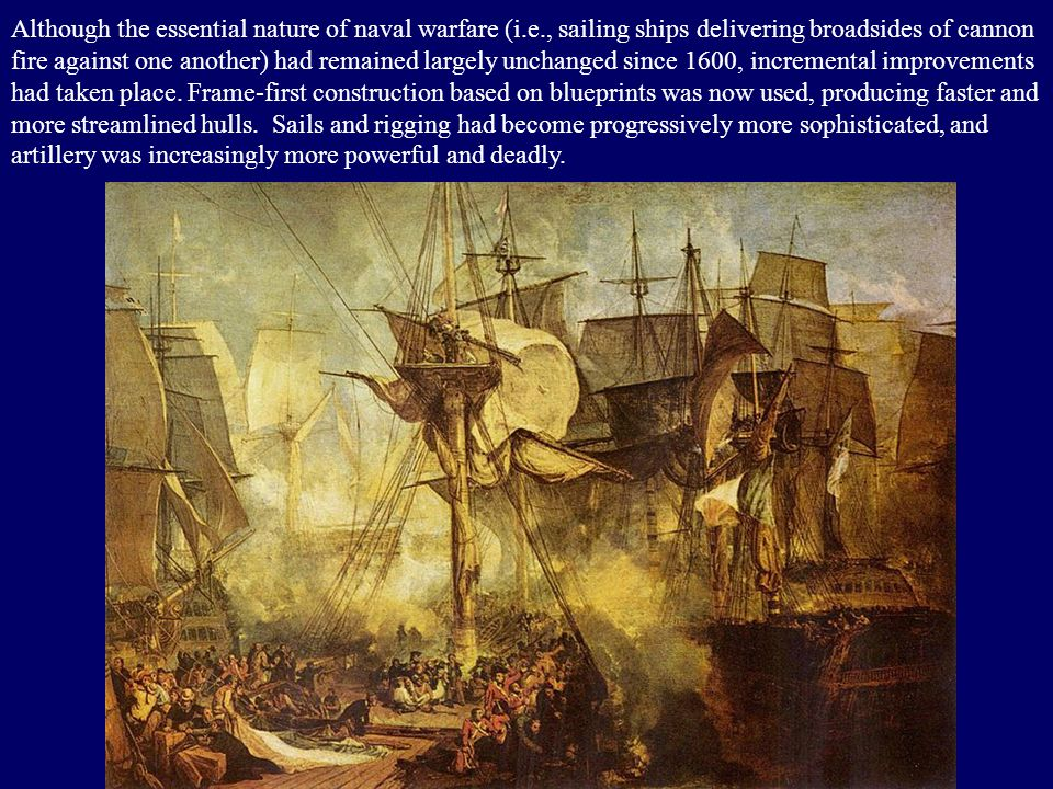 Naval Warfare in the Age of Napoleon