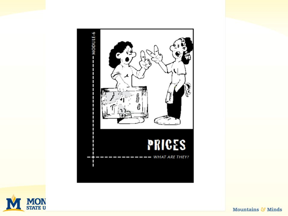 PRICES Sometimes, however, authorities intervene and over- ride the market process.