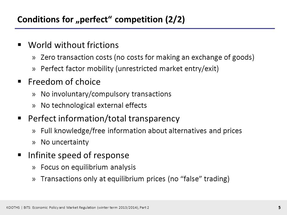 KOOTHS   BiTS: Economic Policy and Market Regulation (winter term 2013/2014), Part 2 26 Taxes on buyers