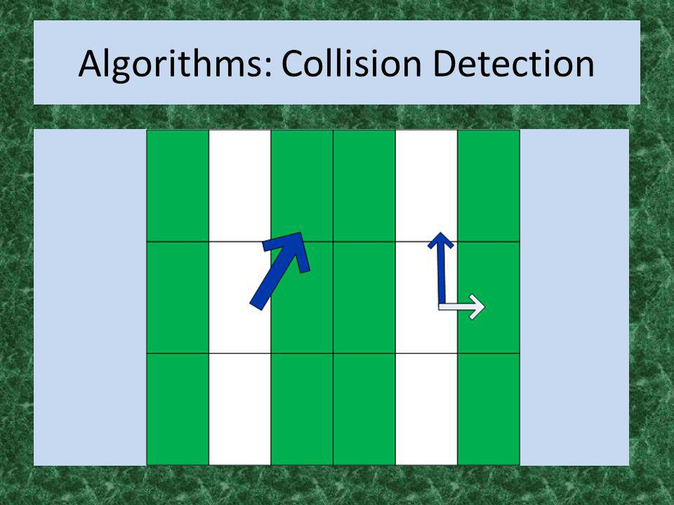 Algorithms: Collision Detection