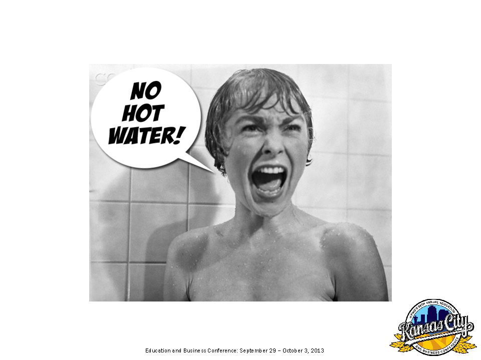 Can we eliminate our need for Hot Water? I think not! Hace Mucho frio!