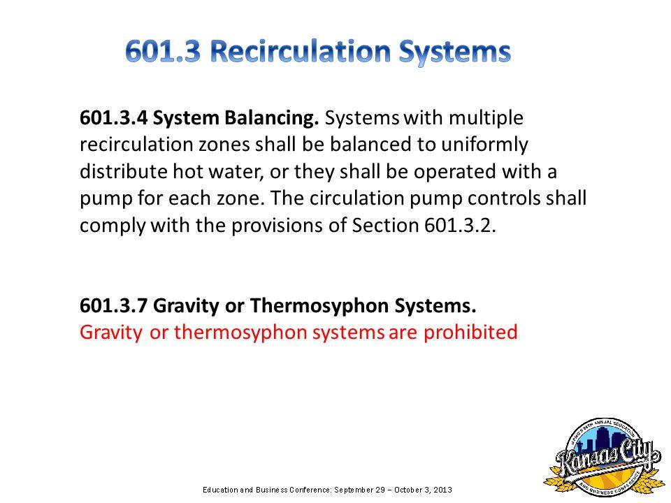 601.3.4 System Balancing.