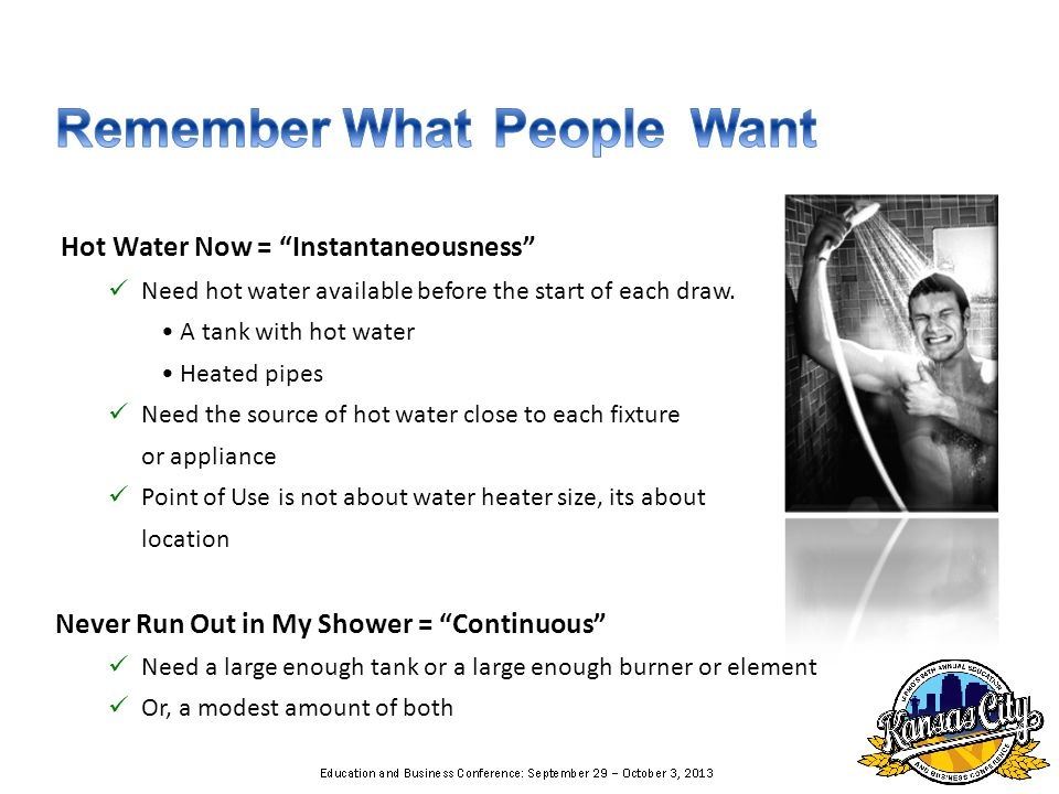 No recirculation is only recommended if all the fixtures are within 1 gallon of the water heater.