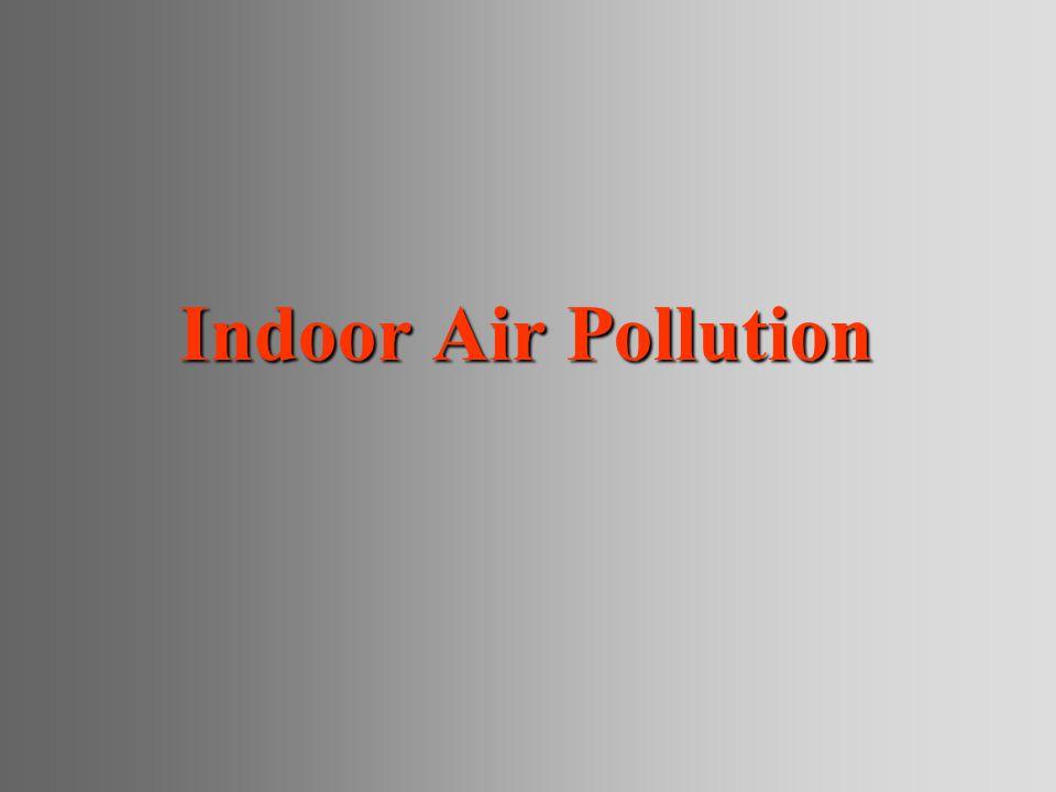Indoor Air Pollution