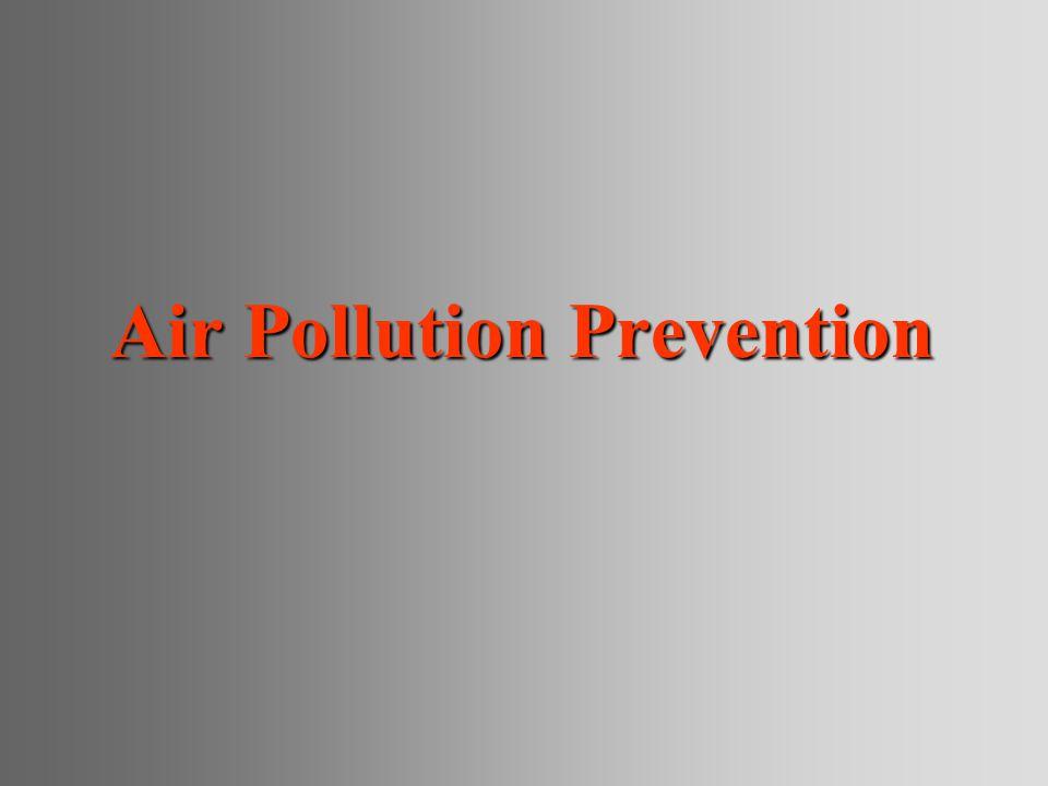 Air Pollution Prevention