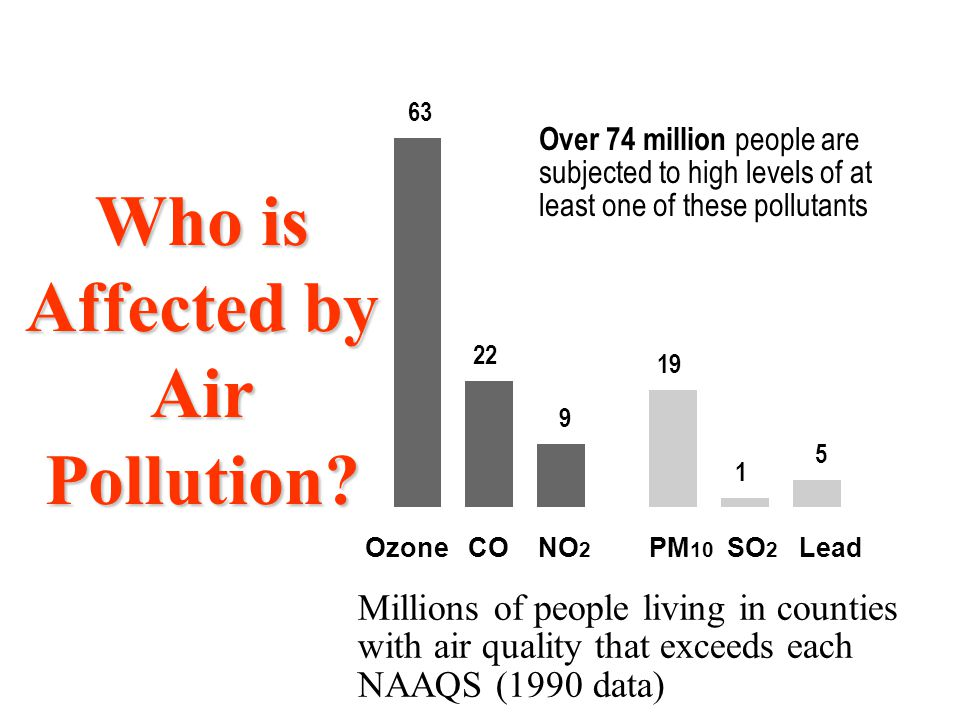 Who is Affected by Air Pollution.