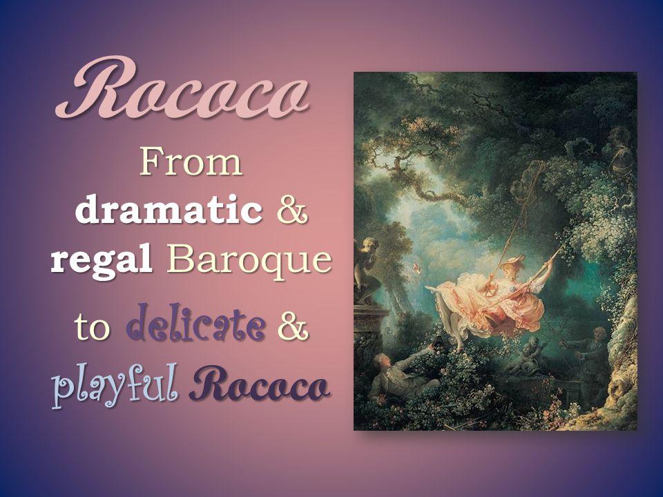 Rococo Pretty pastel colors