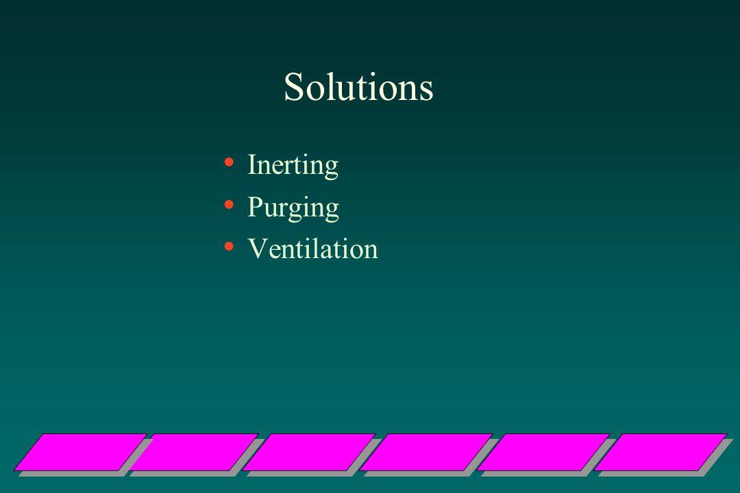 Solutions Inerting Purging Ventilation