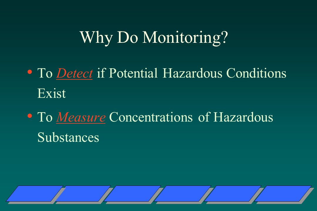 Why Do Monitoring.