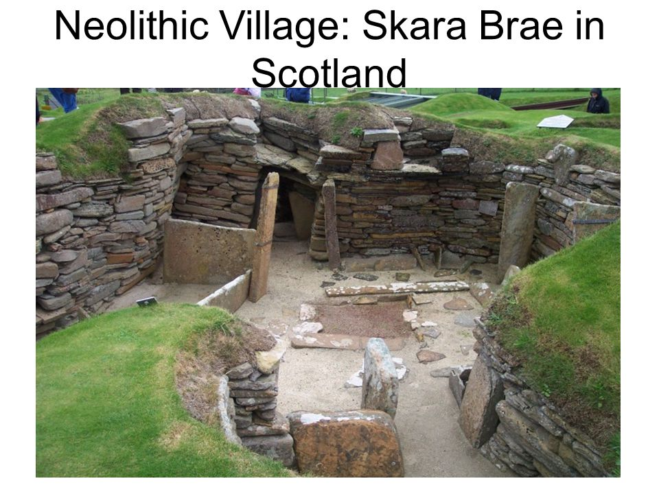 Neolithic Village: Skara Brae in Scotland