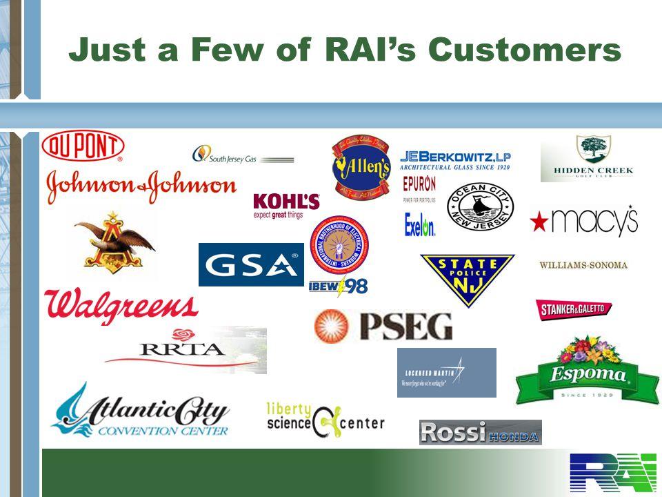 Just a Few of RAIs Customers