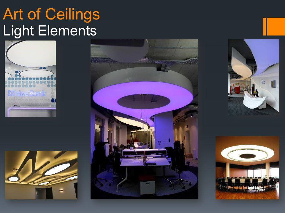 Art of Ceilings Light Elements