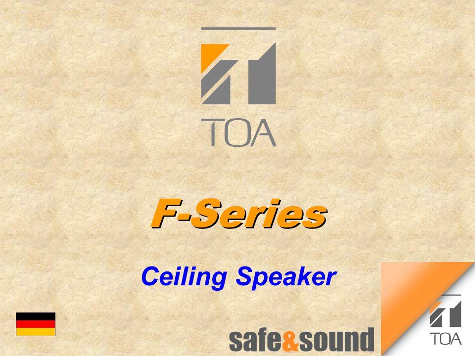 F-Series Ceiling Speaker bc