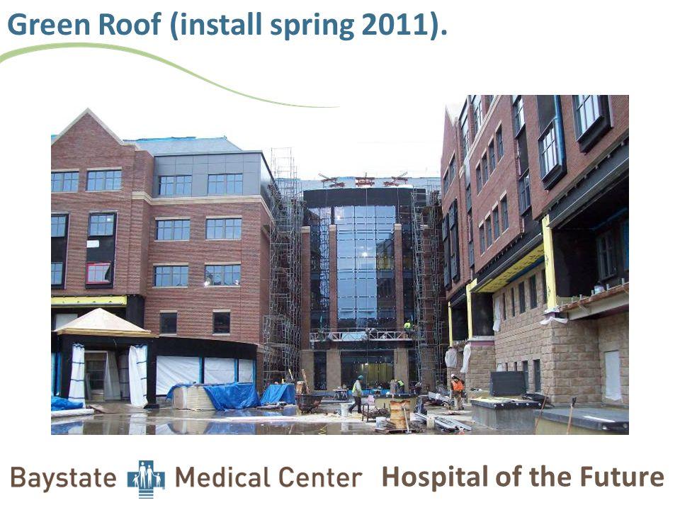 Hospital of the Future Basement boiler started early Nov.