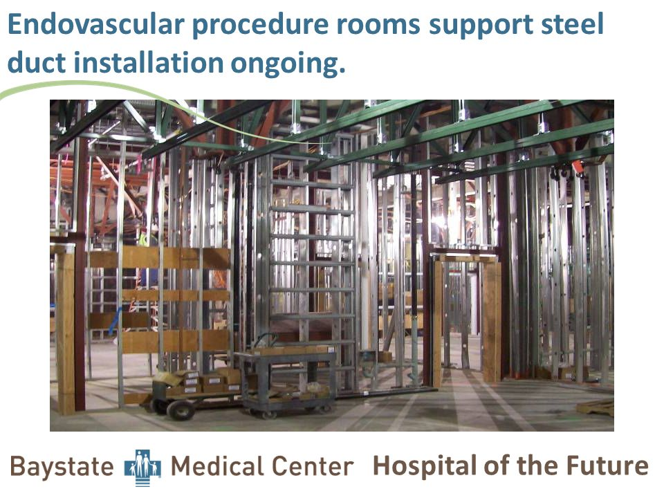 Hospital of the Future Endovascular procedure room coordination complete, released for fabrication.