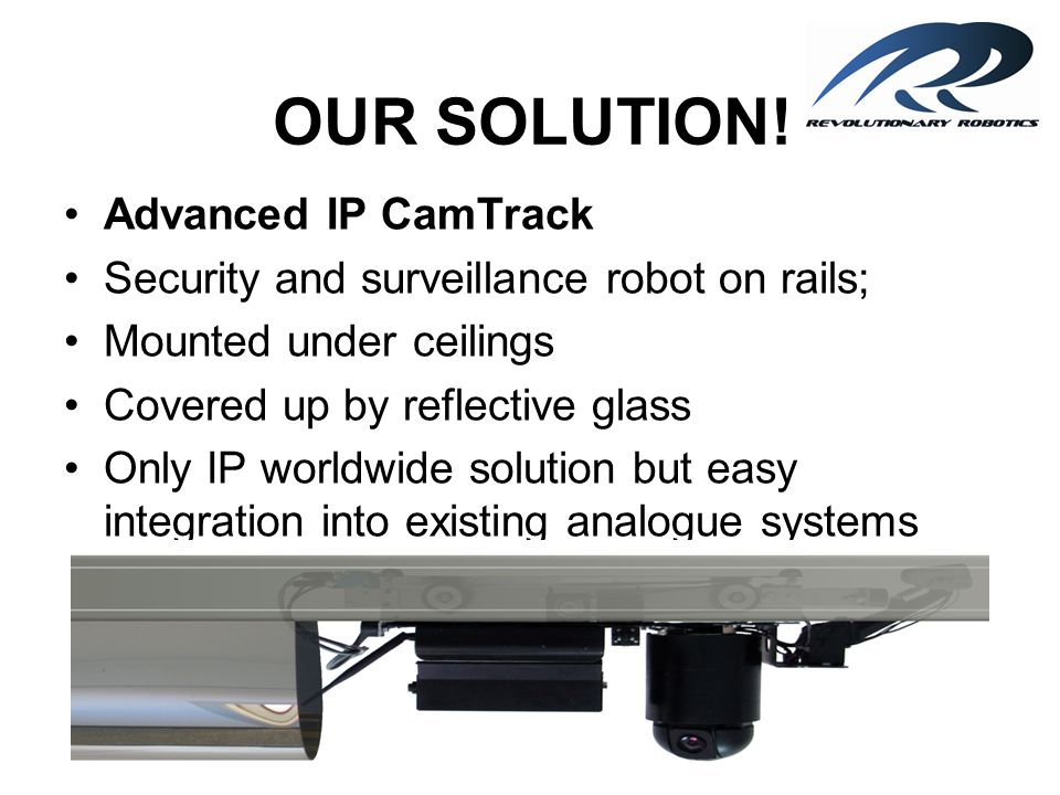 CONCLUSION ADVANCED IP CAMTRACK is a security system of new generation.