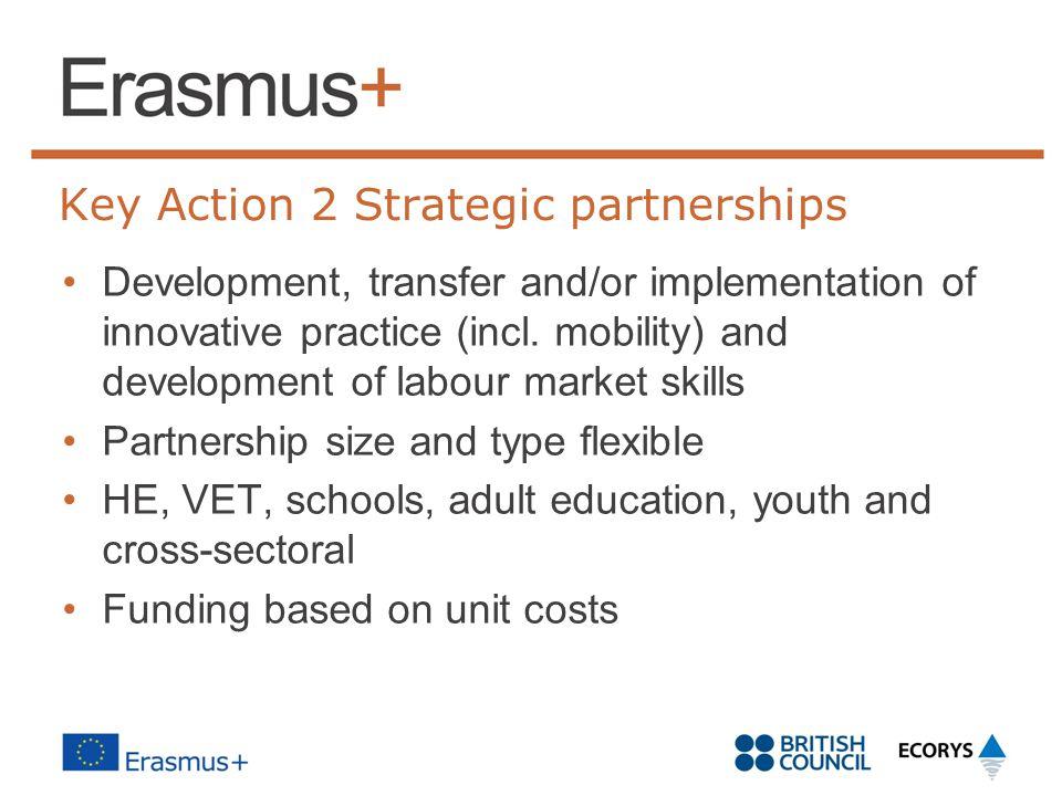 Strategic partnerships in HE