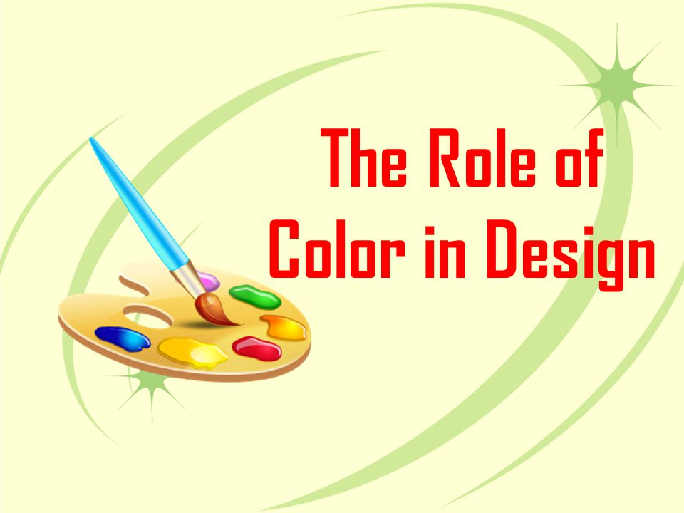 The Role of Color in Design
